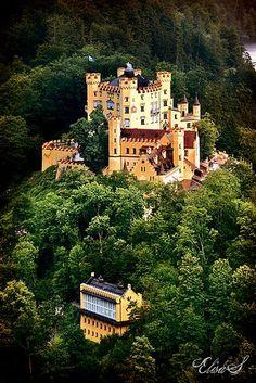 Visit Hohenschwangau Castle in Germany
