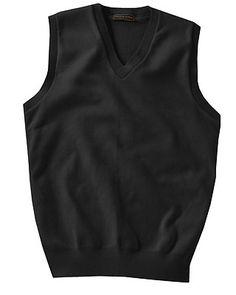Edwards Garment Men/'s Long Sleeve V Neck Jersey Stitch Winter Cardigan 351