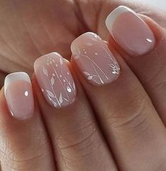 French Manicure Nail Art Lovely 1800 Latest Nail Art Designs Of 2019 Spring Nail Art, Nail Designs Spring, Spring Nails, Nail Art Designs, Summer Nails, Nails Design, French Nails, French Manicure Nails, French Pedicure