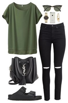 """""""College/ University outfit"""" by cristinahope on Polyvore"""