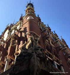 outside of the Palau de la Música Catalana, Barcelona