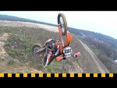 Enduro Crash Test Motocross Videos, Dirt Bike Magazine, Ktm Factory, Ktm 450, European Models, American Motorcycles, Pit Bike, Race Day, Shark