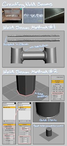 FAQ: How u model dem shapes? H