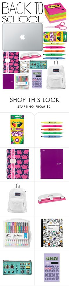 """Back To School"" by pinkstars6 ❤ liked on Polyvore featuring interior, interiors, interior design, home, home decor, interior decorating, Lilly Pulitzer, Mead, Yoobi and Casio"
