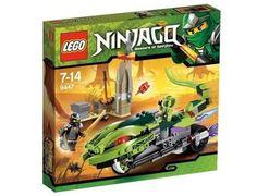 Jeu de construction LEGO Ninjago 9447 - La Moto Serpent de Lasha