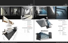 cool simple interior design portfolio layouts - Google Search