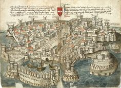 Images of the Medieval City * What did medieval cities look like? Or more precisely, how did medieval people depict cities? Here are 15 images from the Middle Ages that show how the urban world looked like.