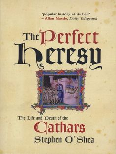 Interesting account of the Cathars (see holy blood, holy grail & inevitable daVinci code) in southern France & their grissly persecution by the Catholic church & Spanish inquisiton among others.............might have to plan a holiday!
