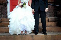 Bride + Groom  Organ at St. Peters Episcopal Church, Charlotte, North Carolina  Copyright Amber S. Wallace Photography