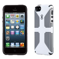 CandyShell Grip iPhone 5s & iPhone 5 Cases: Black and White