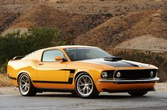 1969 Mustang Fastback (from 2013 Ford Mustang GT) by Retrobuilt