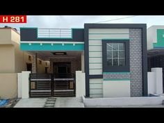For More details Call : 7989455026 Have a look at this beautifully constructed Independent House that is up for sale! House Porch Design, House Outer Design, Single Floor House Design, Modern Small House Design, Village House Design, Kerala House Design, Bungalow House Design, Cool House Designs, Village Houses