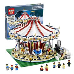 (116.00$)  Know more - http://ainw0.worlditems.win/all/product.php?id=32796822007 - IN STOCK With Motor LEPIN 15013 3263Pcs City  Expert Grand Carousel Model Building Kits Blocks Brick Compatible Toy 10196