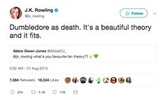 """21 Massive Things J.K. Rowling Has Revealed About """"Harry Potter"""" On Twitter"""