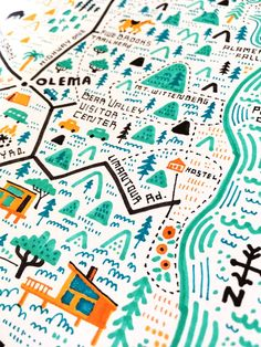 Illustrated Map of Inverness, CA — Nate Padavick Design Ios, Map Design, California Map, Venice Map, Campus Map, Map Projects, Map Maker, Paris Map, Dibujo