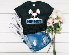 easter hip hop shirt, i said a hip hop tee, funny easter tshirt, easter holiday tees, easter hip hop tee, childrens bunny tee, kids easter shirts, adult easter tshirt, easter tshirt woman, easter bunny tshirt, funny easter shirt, easter holiday boy, easter bunny shirt. BestTeesAT offers quality unisex shirts, women's shirts, kids shirts, tank tops, sweatshirts and hoodies for all occasions. Our high quality apparel is comfortable and perfect for you to make a statement. Women's Shirts, Kids Shirts, T Shirts For Women, Tees, Hoodies, Sweatshirts, Easter Bunny, Trending Outfits, Hip Hop