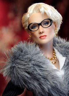 """Meryl Streep in 'The Devil Wears Prada'"" by ncruzdolls (Noel Cruz) 