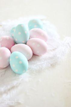 Craftberry Bush: Polka Dot Easter Eggs