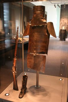 Ned Kelly Armour 1880 State Library of Victoria