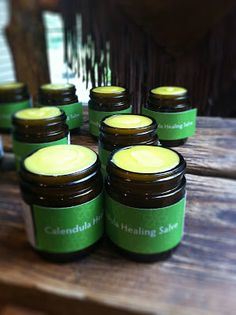 Fresh Picked Beauty: Calendula Healing Salve for Holiday Gift Giving