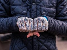 Edward Bishop - Knuckles: Photographer documents the fascinating world of knuckle tattoos | Creative Boom
