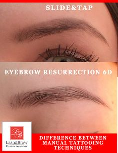 Difference of manual techniques of eyebrow tattooing #6Dbrows #6Dmanualeyebrow #manualeyebrowtattooing #3Dbrowsmanual #eyebrowembroidery #slideandtapmanual #newbornshadowmanualtattoo