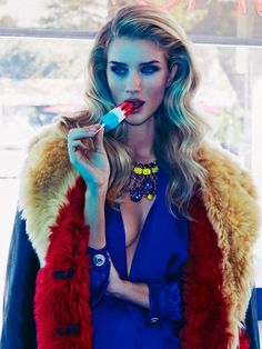 Rosie Huntington Whiteley by James Macari for Vogue Mexico November 2014