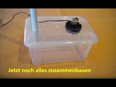 ▷ ANLEITUNG: Luftbefeuchter selber bauen | schrittweise erklärt