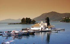 Mouse island (Pontikonissi) - Corfu