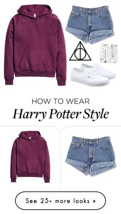 """Untitled #721"" by chill-outfits on Polyvore featuring H&M and Vans"