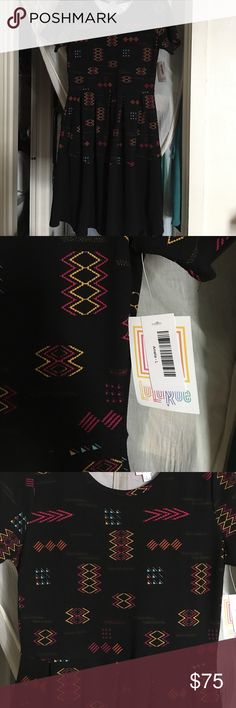 🆕LISTING NWT LulaRoe 🦄🦄Unicorn🦄🦄 Amelia This was my first Amelia and I didn't try it on. Too small! Love this dress. My loss your gain. LuLaRoe Dresses