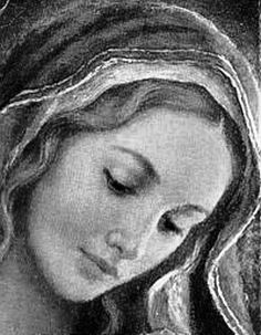 Hail Mary, full of grace, the Lord is with thee: blessed art thou among women, and blessed is the fruit of thy womb, Jesus. Holy Mary, Mother of God, pray for us sinners, now and at the hour of our death. Amen