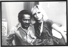 Chuck Berry and Debbie Harry