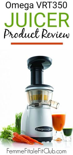 Omega VRT350 Juicer Product Review #juicer #juicing #omegajuicer #juice Health And Wellness, Health Fitness, Cold Pressed Juice, Infused Water Bottle, Clean Eating, Eating Healthy, Recipe Please, Inspiring Women, Group Fitness