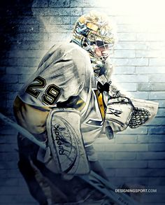 Marc-Andre Fleury, Pittsburgh Penguins — NHL 'Puckstoppers' Series
