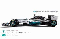 Mercedes W05 - 2014