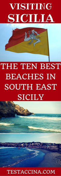 This guide to South-East Sicily's top ten beaches includes wild, unspoilt coastlines, places to go surfing and elegant resort with full services.