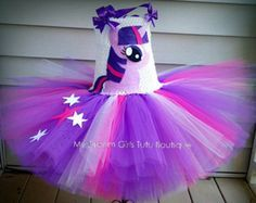 Pinkie Pie mi pequeño vestido de Pony vestido por MyDreamGirlsTutus Vestidos  De Tutu dc96f68d0ac8