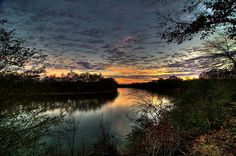Black Warrior River in Alabama