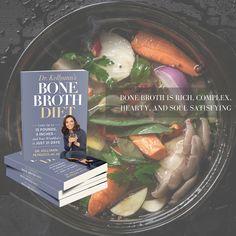 Bone Broth Diet by Dr. Kellyann Petrucci #nutrition #weightloss #bonebroth