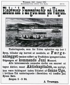Bergens Tidende, 5. mars 1894. Invitasjon til folket i Bergen til å delta som aksjonærer i nytt ferjeselskap.