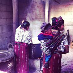 Traditional Mayan Kitchen, Guatemala
