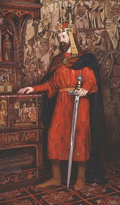 Charles IV (Karel IV.) 1316 – 1378, born Václav (Wenceslaus), the second King of Bohemia from the House of Luxembourg, and the first King of Bohemia to also become Holy Roman Emperor. probably ther most famous personality of the Czech state ever. He rebuilt the city of Prague as the capital of Central Europe and one of intellectual and cultural centers of Europe. In 1348, he founded the Charles University in Prague, which was named after him and was the first university in Central Europe.
