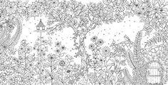 Secret Garden, An Inky Treasure Hunt and Colouring Book | UMKA. Ukrainian music. News. // www.UMKA.com.ua