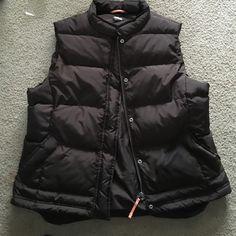 J.Crew XL brown puffer vest Excellent condition. Size XL brown puffer vest. J. Crew Jackets & Coats Vests