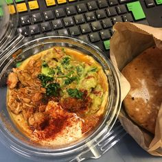 Had a massive craving for bit of hummus action today... With chicken and guac... Hit the spot  @hummus_bros #citylunch #citygirl #thelondoncitygirl #lunch #citybites #hummus #hummusbros #guac #avolove #healthyeats #cleaneating #pitta #foodie #foodcraving #yum