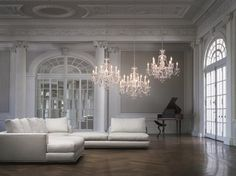 Crystal Chandeliers from Schonbek