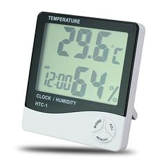 Digital Temp Humidity Meter Hygro Thermometer - LCD - http://ucables.com/product/digital-temp-humidity-meter-hygro-thermometer-lcd/