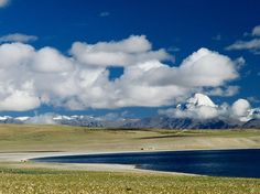 Manasarovar Lake and Mount Kailash.