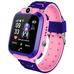 Kids Smart Watch Phone LIGE Waterproof Smartwatch with SOS Anti-Lost Remote Camera SIM Card GPS Watch for Children Years Old Boys Girls Accessories Cases-Sleeves Phones-Accessories Headsets Bluetooth, Fitness Tracker, Smartwatch Waterproof, Sport Armband, Fitness Armband, Camera Watch, Android Watch, Waterproof Watch, Smartwatch